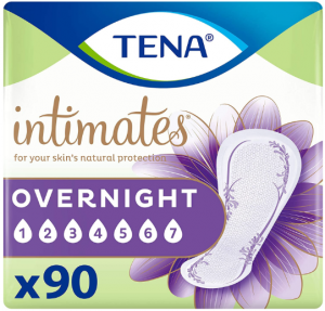 Tena intimates overnight absorbency pads