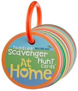 Toddler Scavenger Hunt Cards at Home - Interactive, Educational, and Mobile First Game Toy for Toddlers Boys Girls